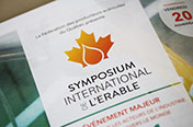 SYMPOSIUM DE L'ÉRABLE