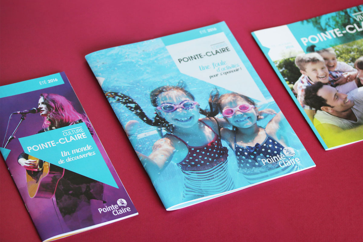 PUBLICATIONS MUNICIPALES DE LA VILLE DE POINTE-CLAIRE