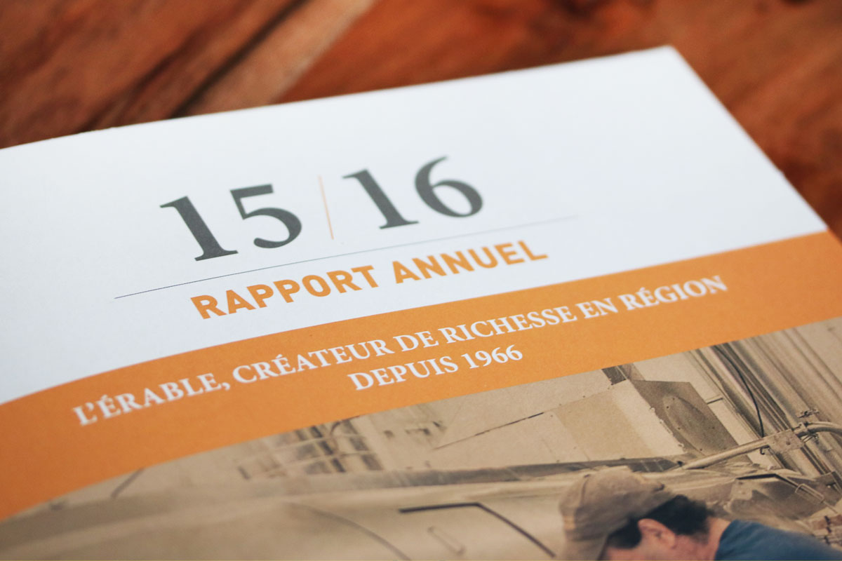 FPAQ – RAPPORT ANNUEL 2015-2016