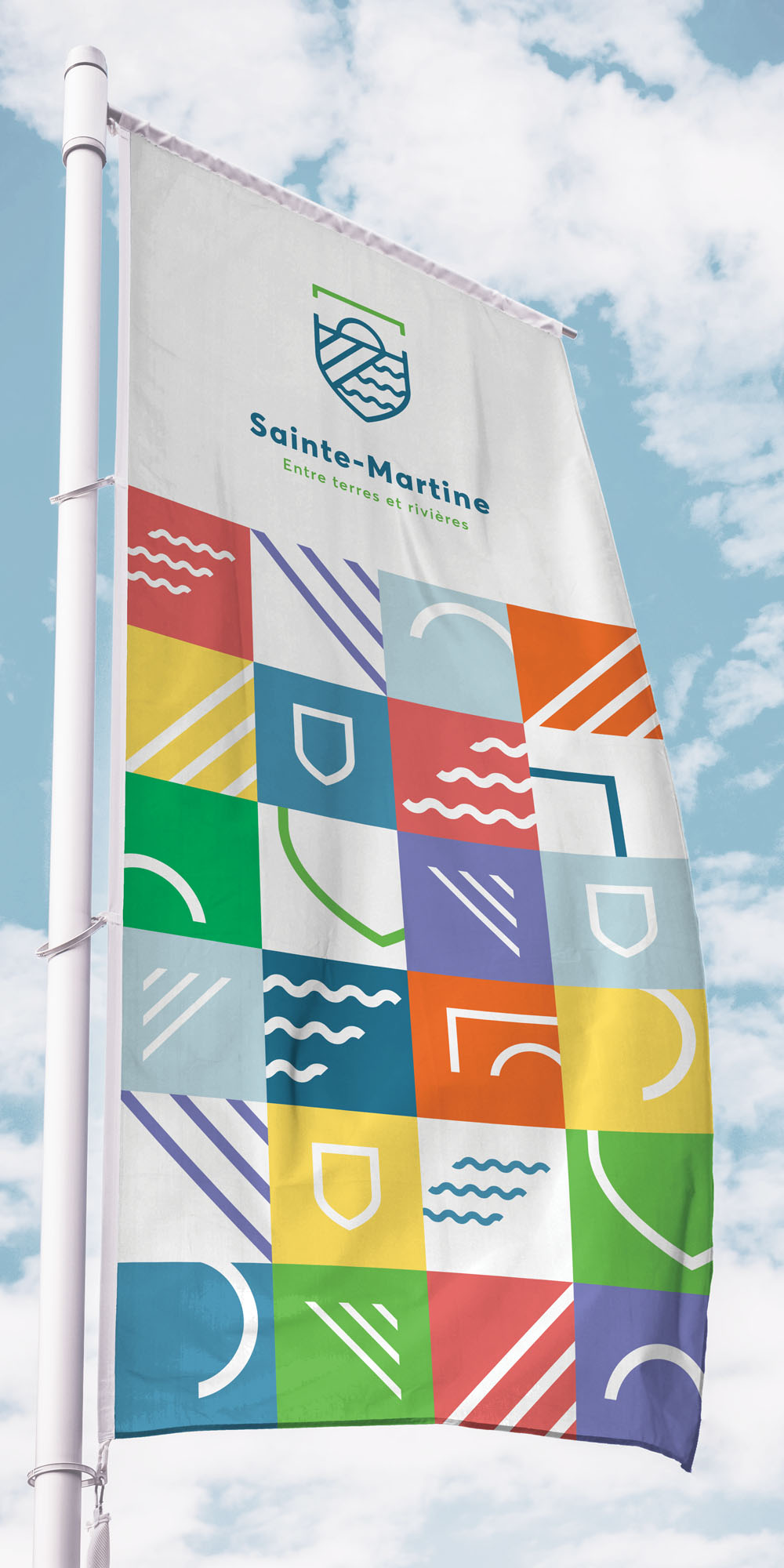 Sainte-Martine-FlagMotif